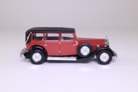 Matchbox Collectibles YY053/SA-M; 1931 Mercedes-Benz 770; Maroon/Black, Superdetailed