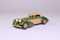 Matchbox Collectibles YY017A/SA-M; 1938 Hispano Suiza; Olive & Tan, Superdetailed