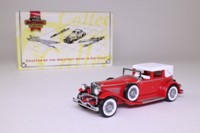 Matchbox Collectibles DYM35182; 1930 Duesenberg Model J Town Car; Red, Superdetailed