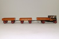 Corgi Classics CC20205; 1925 Foden C Type Steam Lorry; Dropside & 2 Trailers, Fuller's Brewery, Barrels Load