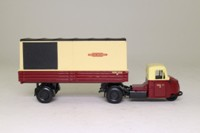 Corgi Classics 15005; Scammell Scarab; Artic Box Van, British Railways; Maroon & Cream