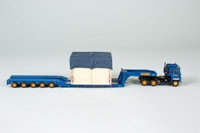 Corgi Classics CC12605; Scammell Crusader Artic; King Trailer & Crated Load, Pickfords