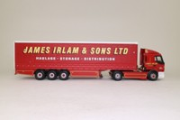 Corgi Classics 75606; Renault Premium Artic (1:50); Curtainside, James Irlam & Sons Ltd