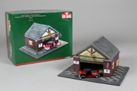Corgi Classics CC82258; BL/Rover Mini; Rob Stacey, Workshop Diorama
