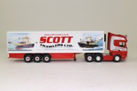 Corgi Classics CC18102; Scania R Cab Artic, 1:76 Scale; Fridge Trailer; Scott Trawlers Ltd
