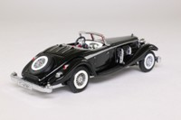 Matchbox Collectibles YY020A/D; 1938 Mercedes-Benz 540k; Black, Silver Trim