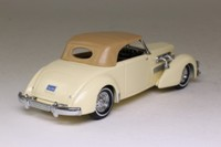 Models of Yesteryear YY018A/C; 1937 Cord 812 Coupe; Soft Top, Cream, Tan Hood