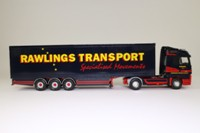 Corgi Classics CC13813; Mercedes-Benz Actros; Box Trailer, Rawlings Transport