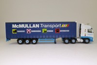 Corgi Classics CC14020; Volvo FH Artic; Curtainside Trailer, McMullan Transport, Ballymoney, Co. Antrim, Northern Ireland