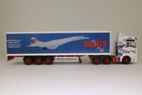 Corgi Classics CC13433; MAN TGA XXL; Box Trailer, Saints, Concorde Graphics