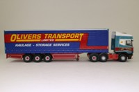 Corgi Classics CC12937; Scania Topline; Curtainside Trailer, Olivers Transport Ltd