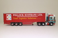 Corgi Classics CC12931; Scania Topline; Curtainside Trailer, Pollock Scotrans Ltd
