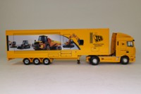 Corgi Classics CC13237; DAF XF Space Cab; Exhibition Unit JCB Construction Equipment