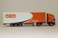 Corgi Classics CC12111; Renault Premium Artic (1:50); Box Trailer, TNT Global Express