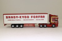 Corgi Classics CC18107; Scania R Cab Artic, 1:76 Scale; Curtainside; Sandy Kidd; Forfar
