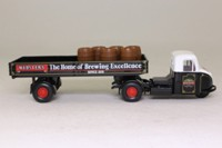 Corgi Classics 97318; Scammell Scarab; Artic Dropside With Barrels; Webster's Brewery