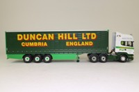Corgi Classics CC13716; Scania Topline; Curtainside Trailer, Duncan Hill Ltd, Cumbria