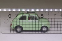 Matchbox Collectibles VEM06-M; 1966 Fiat 500 Nuova; Open Roof, Light Green