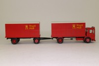 Corgi Classics Code 3; AEC Ergomatic Cab; 4 Wheel Box Van & Trailer; Royal Mail