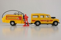 "Corgi C1007; Land-Rover Series 3 109"" and Compressor; Yellow"