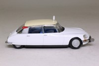 DS Collection; Citroen ID19 Sedan, 1968 - Taxi, White, Cream Roof