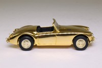 Vanguards VA05007; MGA Roadster; Open Top, Gold-Plated, 50th Anniversary