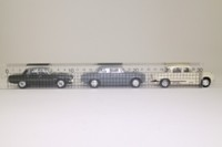 Vanguards RC1003; Rover Collection 3 Car Set; P4/100 Ivory; P5 Steel Blue; P6/3500 Cameron Green