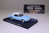 James Bond #30, Ford Mustang Convertible; Thunderball