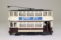 Corgi Classics 97287; Double Deck Tram, Closed Top, Closed Platform; Nottingham Corporation Transport; Arnold