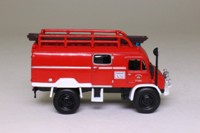World Fire Engines Series #151; 1959 Metz Unimog S-404 Fire Truck, Germany