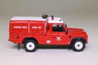 Fire Engines of the World Series #100; 1998 Land-Rover Defender 110 Tdi Fire Engine