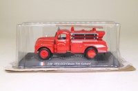 del Prado World Fire Engines Collection #30; 1974 CCI Citroen T46 Guinard Fire Engine, Sapuers Pompiers, Camion Citerne Incendie