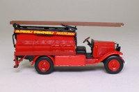 World Fire Engines #80: 1929 Chevrolet Fire Engine; Sapeurs Pompiers, Mouscron, Belgium