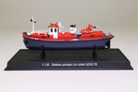 World Fire Engines Series #155; Fire Pump Boat Ltn Gillet SDIS 78