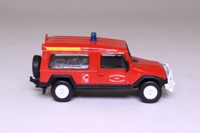 World Fire Engines Series #29; 1990 VSRTT UMM BDU 11 D1L BEMAEX, Véhicule de Secours Routier Tout Terrain, France