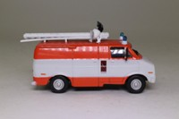 Fire Engines of the World Series #141; 1997 Dodge Tradesman 300 VSR Fire Truck, Belgium, Véhicule de Secours Routier