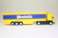Corgi Superhaulers; Volvo FH 1:64 Scale; Artic Curtainside Trailer; Weetabix