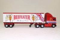 Matchbox Collectibles KS201/SA-M; Freightliner Cab Over; Artic Box Trailer