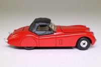 Corgi Classics 803; Jaguar XK120 Roadster (1:36); Soft Top, Red, Black Hood