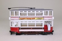 Corgi Classics 97273; Double Deck Tram, Closed Top, Closed Platform; Blackpool Corporation; Pleasure Beach