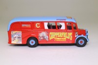 Corgi Classics Code 3; Bedford OB Duple Vista Coach; Chipperfields Circus Accomodation Caravan