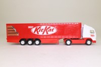 Corgi Superhaulers 59511; Volvo FH 1:64 Scale; Artic Curtainside Trailer, Kit Kat