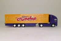 Corgi Superhaulers 59501; ERF EC 1:64 Scale; Artic Curtainside; Cadbury's Crunchie