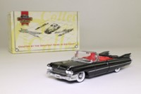 Matchbox Collectibles DYG05-M; 1959 Cadillac Coupe De Ville; Open Top, Black