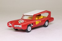 Corgi Classics CC52405; The Monkeemobile; Red, White Roof, No Figures