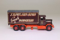 The Greatest Show on Earth; Scammell R6, 6 Wheel Box Van, J Rowland & Sons Super Dodgems
