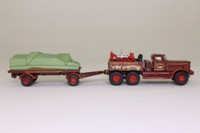 The Greatest Show on Earth; Diamond T Generator Truck & Flatbed Trailer, Charles Thurston's Joy Amusements