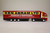Corgi Superhaulers TY86710; Volvo FH 1:64 Scale; Artic Curtainside, Ken Abram Ltd