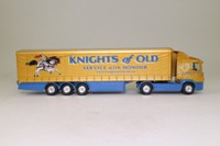 Corgi Classics TY86624; Scania R Cab, 1:64 Scale; Artic Curtainside Trailer, Knights of Old