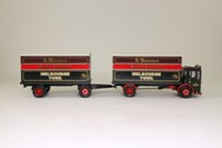 Corgi Classics 97892; AEC Ergomatic Cab; 4 Wheel Box Van & Trailer; S Houseman, Melbourne, York